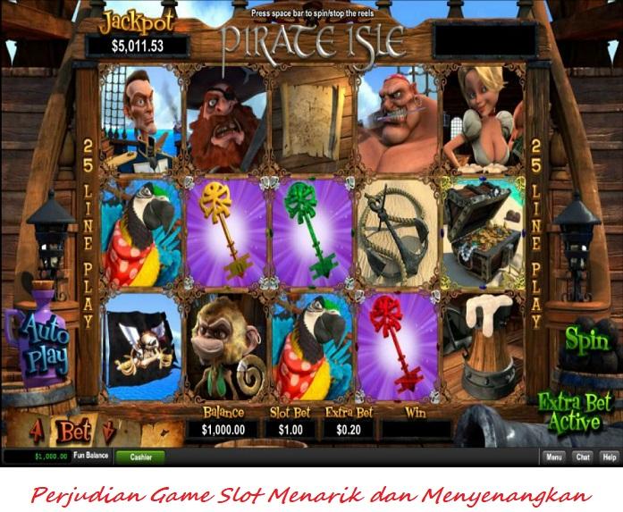 Perjudian Game Slot Menarik dan Menyenangkan